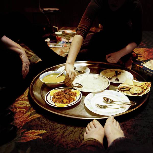 Chicken Feet Photograph - Dinner by Kerry M. Halasz