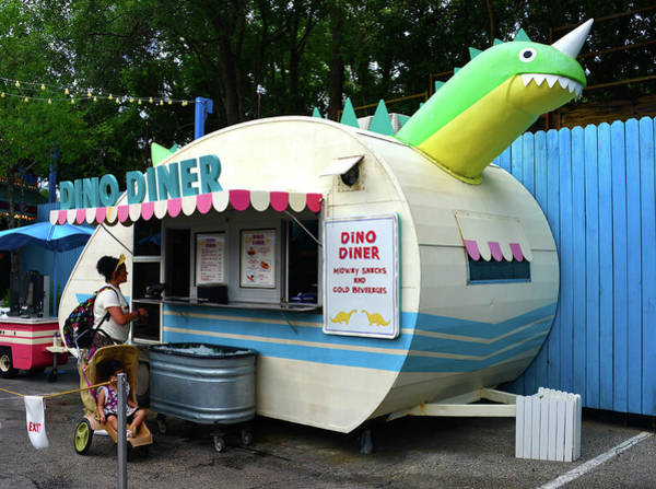 Wall Art - Photograph - Dino Diner by David Lee Thompson