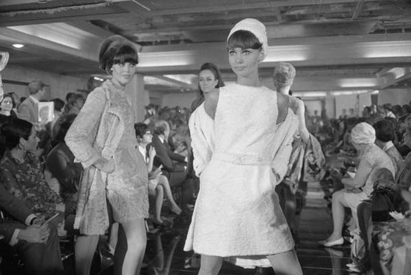Fashion Model Photograph - Dior Fashion Show by Reg Lancaster