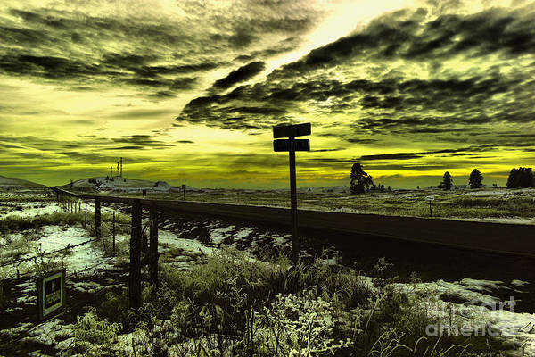Wall Art - Photograph - Directions Under The Clouds by Jeff Swan