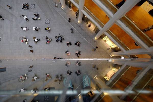 Real People Photograph - Directly Above Shot Of People Outside by Atsushi Fujikawa / Eyeem