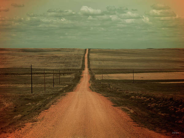 Photograph - Dirt Road by Leland D Howard