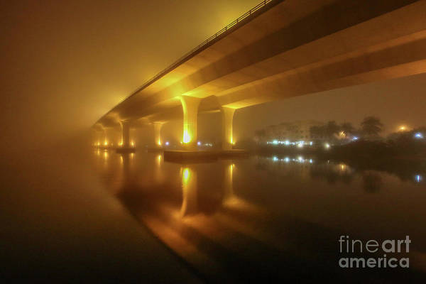 Photograph - Disappearing Bridge by Tom Claud