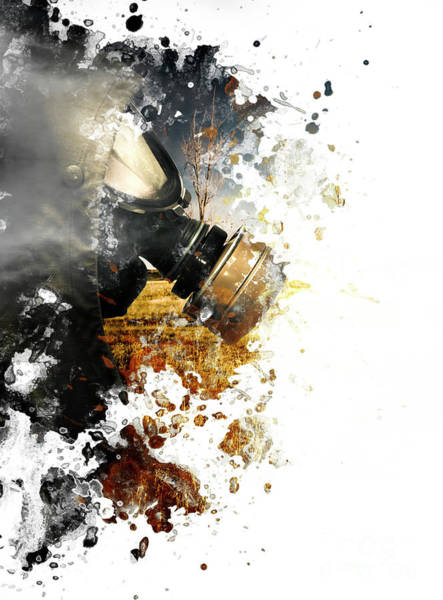 Disaster Photograph - Disaster Of War And Gas by Jorgo Photography - Wall Art Gallery