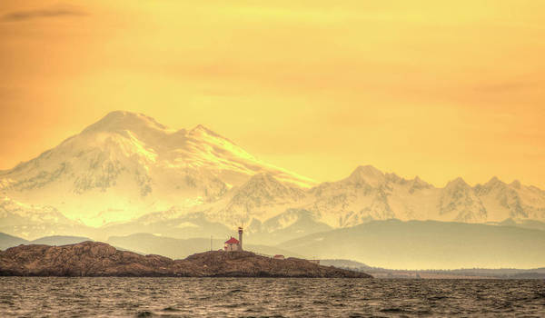 Wall Art - Photograph - Discovery Island Lighthouse, Victoria by Stuart Westmorland