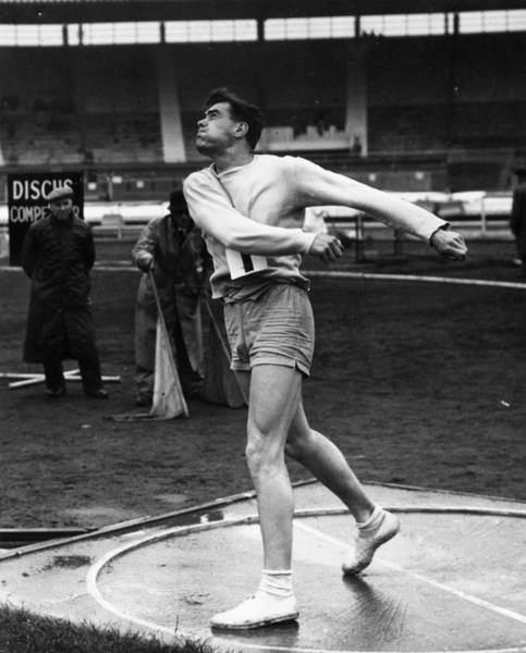 Vitality Photograph - Discus Final by Harrison