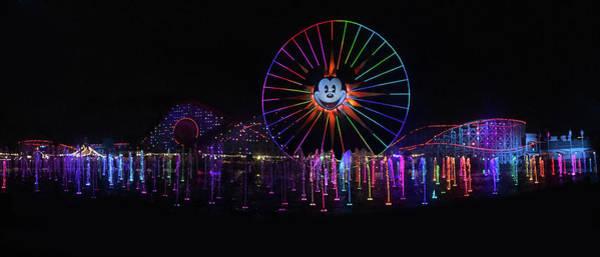 Wall Art - Photograph - Disney California Panorama by Art Spectrum
