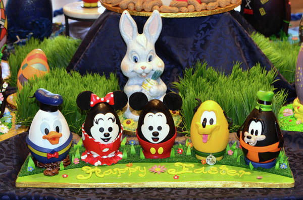 Wall Art - Photograph - Disney Character Easter Eggs by David Lee Thompson