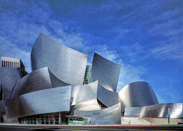 Painting - Disney Concert Hall by Christopher Arndt