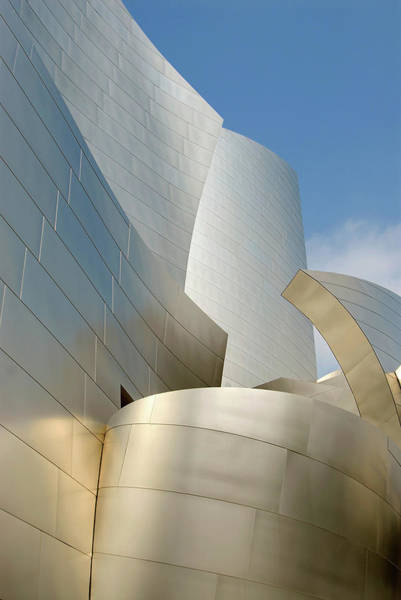 Photograph - Disney Concert Hall by Kathleen Gauthier