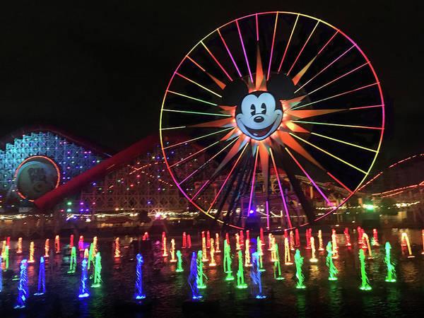 Wall Art - Photograph - Disney World Ferris Wheel  by Art Spectrum