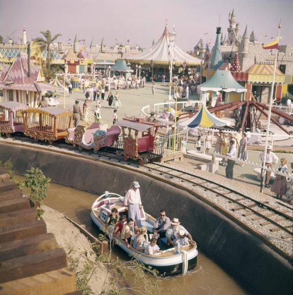 Tomorrowland Photograph - Disneyland Opening, 1955 by Loomis Dean