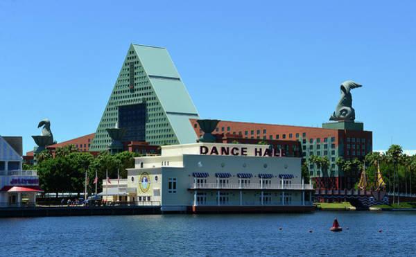 Wall Art - Photograph - Disney's Dolphin Resort by David Lee Thompson