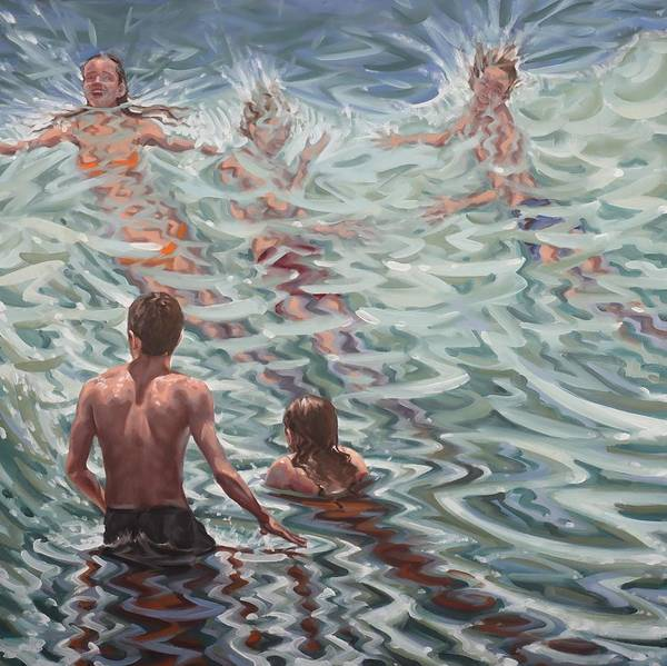 Painting - Disolving In Water by Gary M Long
