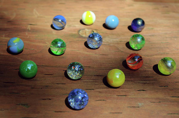 Photograph - Display Of Marbles by Tikvah's Hope
