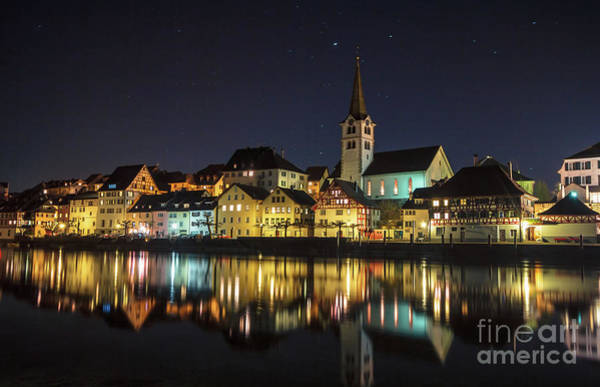 Photograph - Dissenhofen On The Rhine River by Bernd Laeschke