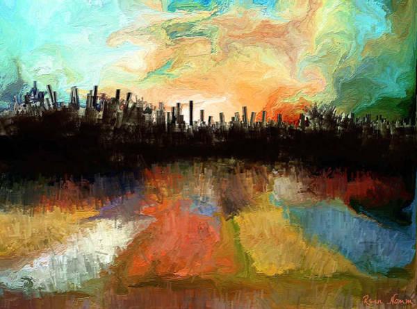 Digital Art - Distant Devastation  by Rein Nomm