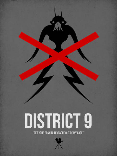 District Wall Art - Digital Art - District 9 by Naxart Studio
