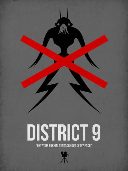 Sci-fi Digital Art - District 9 by Naxart Studio