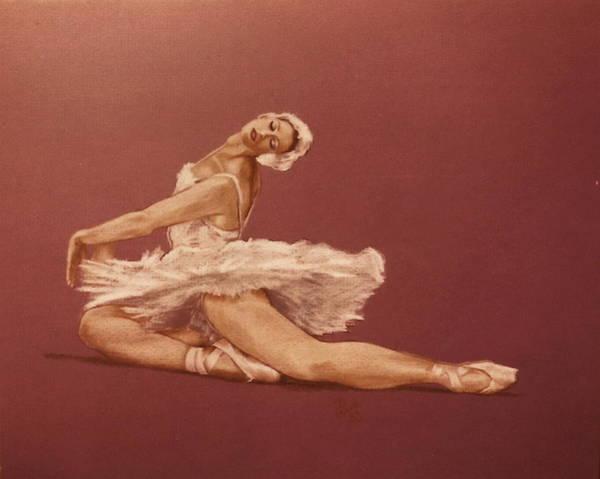 Wall Art - Drawing - Diva by Barbara Keith