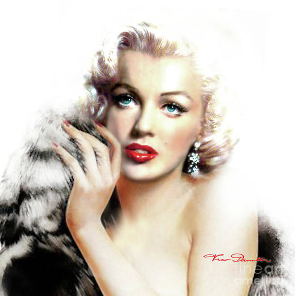 Painting - Diva Mm Bright by Theo Danella