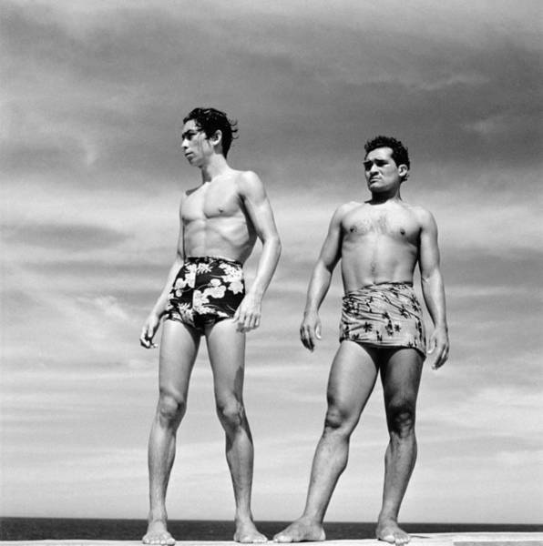 Fashionable Photograph - Divers by Evans