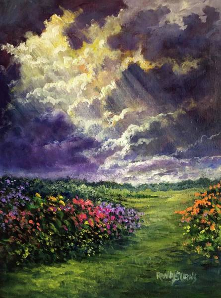 Wall Art - Painting - Divine Intervention by Randy Burns