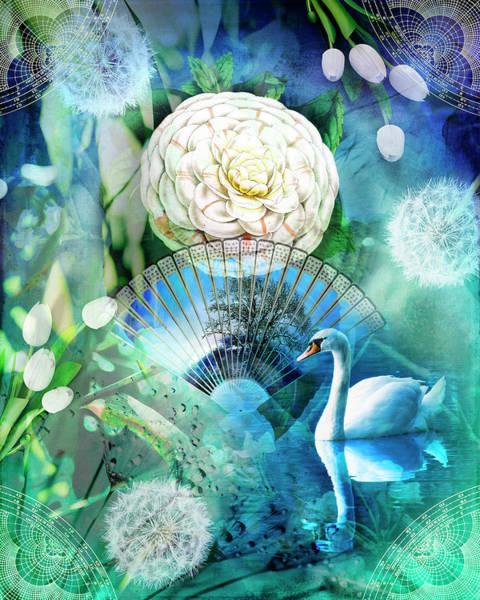 Bonsai Tree Digital Art - Divine Peace by Linda Carruth