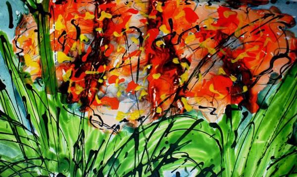 Wall Art - Painting - Divineblooms22143 by Baljit Chadha