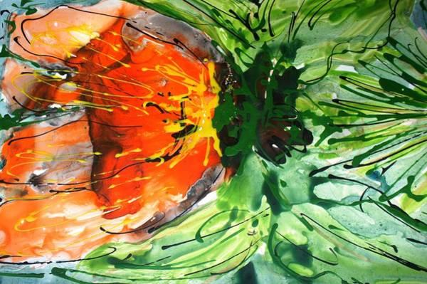 Wall Art - Painting - Divineblooms22145 by Baljit Chadha