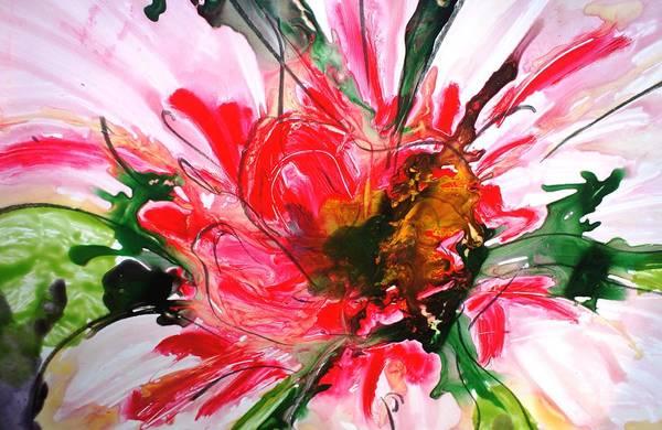 Wall Art - Painting - Divineblooms22149 by Baljit Chadha