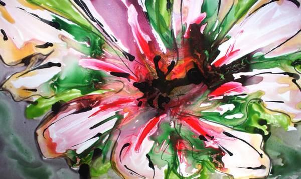 Wall Art - Painting - Divineblooms22152 by Baljit Chadha