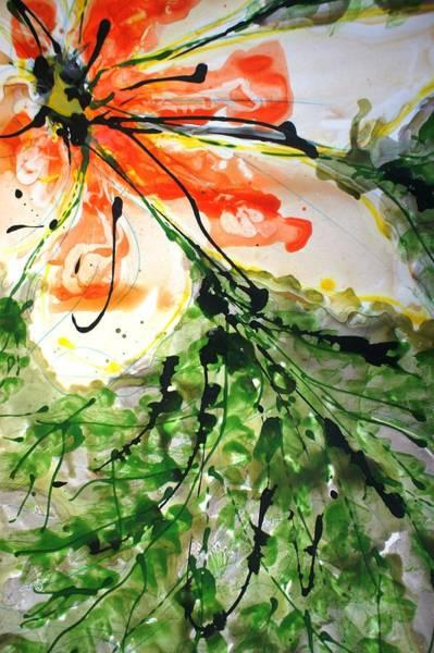 Wall Art - Painting - Divineblooms22156 by Baljit Chadha