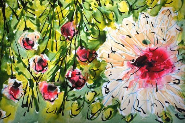 Wall Art - Painting - Divineblooms22157 by Baljit Chadha