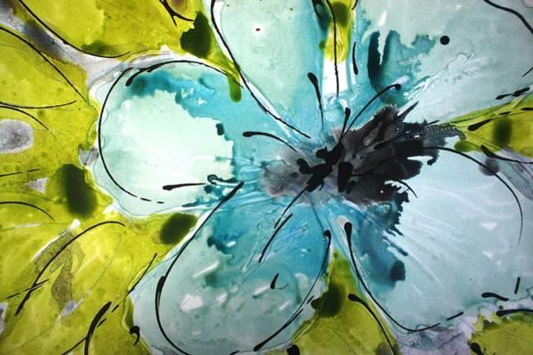 Wall Art - Painting - Divineblooms22161 by Baljit Chadha