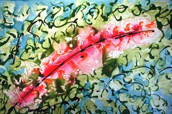 Wall Art - Painting - Divineblooms22172 by Baljit Chadha
