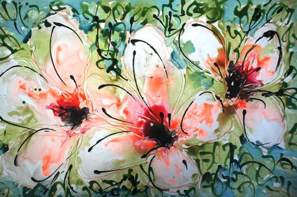 Wall Art - Painting - Divineblooms22174 by Baljit Chadha