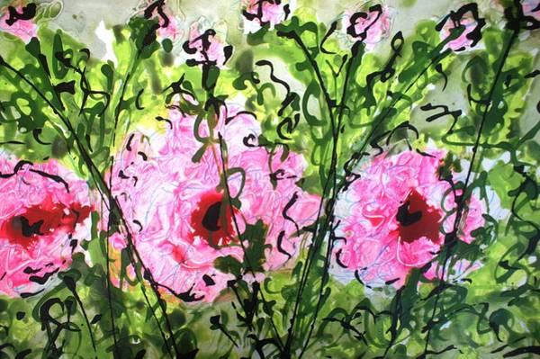 Wall Art - Painting - Divineblooms22175 by Baljit Chadha