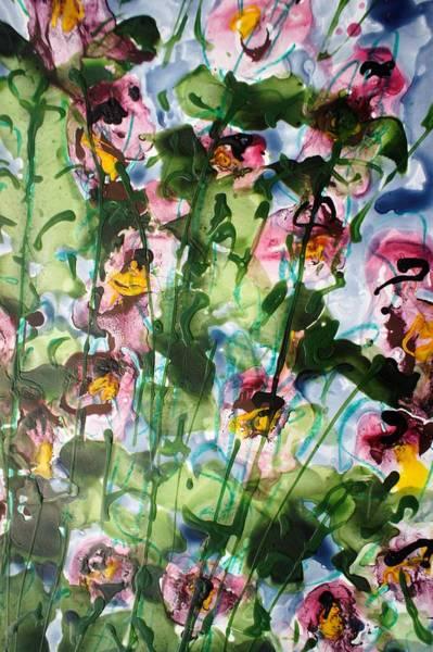 Wall Art - Painting - Divineblooms22176 by Baljit Chadha