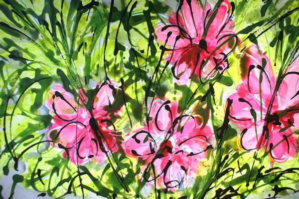 Wall Art - Painting - Divineblooms22177 by Baljit Chadha