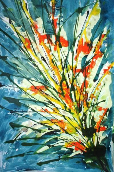 Wall Art - Painting - Divineblooms22182 by Baljit Chadha