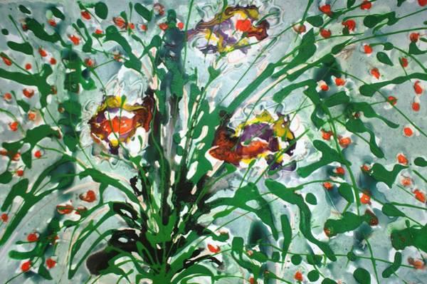 Wall Art - Painting - Divineblooms22190 by Baljit Chadha