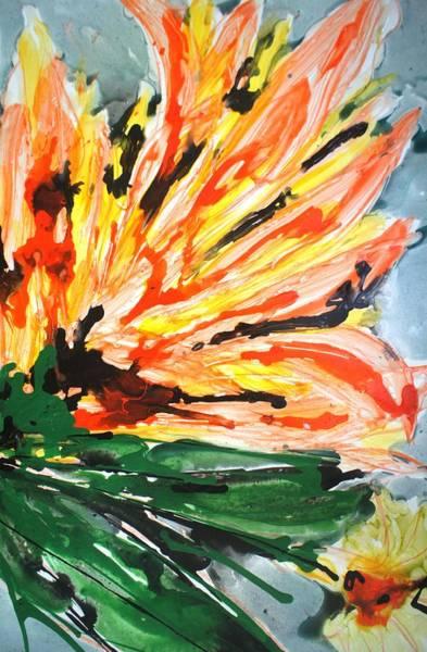 Wall Art - Painting - Divineblooms22191 by Baljit Chadha