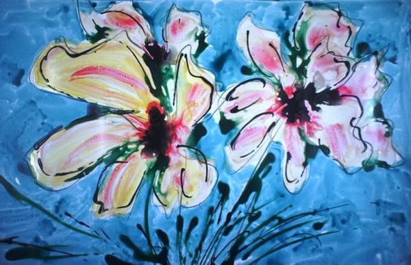 Wall Art - Painting - Divineblooms22198 by Baljit Chadha