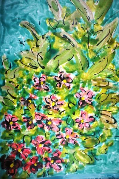 Wall Art - Painting - Divineblooms22199 by Baljit Chadha