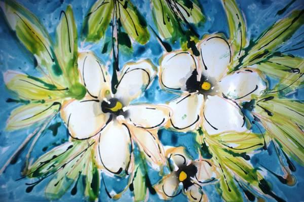 Wall Art - Painting - Divineblooms22204 by Baljit Chadha