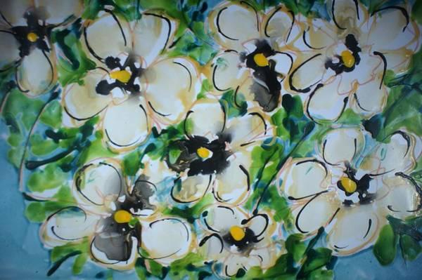 Wall Art - Painting - Divineblooms22205 by Baljit Chadha