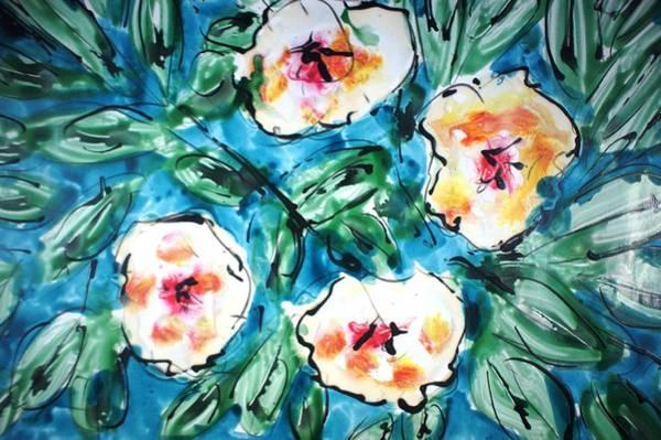 Wall Art - Painting - Divineblooms22206 by Baljit Chadha