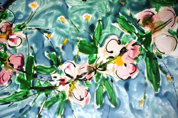 Wall Art - Painting - Divineblooms22208 by Baljit Chadha