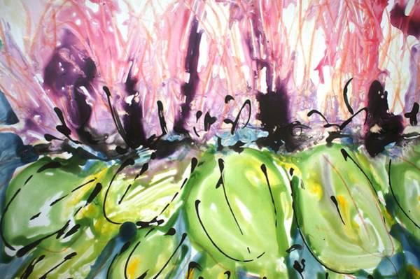 Wall Art - Painting - Divineblooms22209 by Baljit Chadha